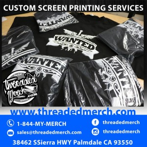 Custom Screen Printed Band Merch